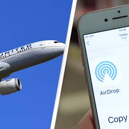 Aeroplane Evacuated After Teen AirDropped Photo Of Gun