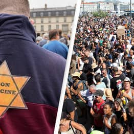 Holocaust Survivor Outraged After Protesters Compare Vaccines To Nazi Death Camps