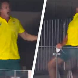 Australian Coach's Celebration Is The Energy We Need On A Monday Morning