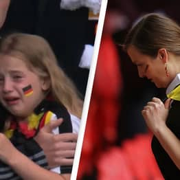 Fundraiser Set Up For Crying German Girl At Euro 2020