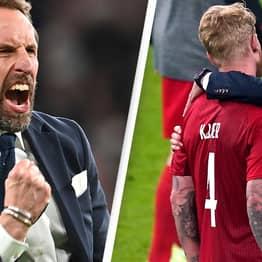 Footage Of Gareth Southgate Consoling Denmark Players After Euro's Loss Is Praised Online