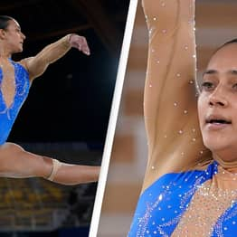 Olympic Gymnast Does Black Lives Matter Tribute During Her Floor Routine