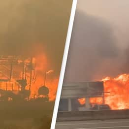 Mayor Says 'The Whole Town Is On Fire' As Record Breaking Heatwave Sparks Intense Wildfires