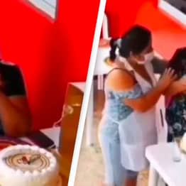 Woman Celebrating Birthday Alone Brought To Tears By Strangers