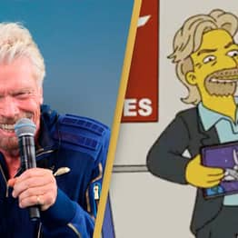 Debate Sparked After Fans Claim The Simpsons Predicted Richard Branson's Flight To Space