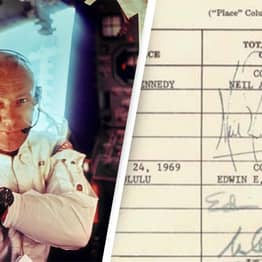 Buzz Aldrin Reveals Customs Document He Had To Sign When Returning From Space