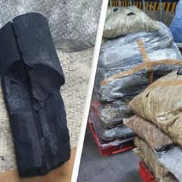 Police Seize $41 Million Worth Of Cocaine Disguised As Charcoal