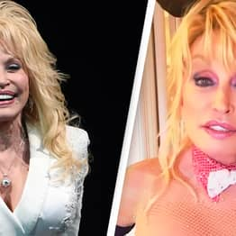 Dolly Parton Poses As Playboy Bunny For Husband's Birthday