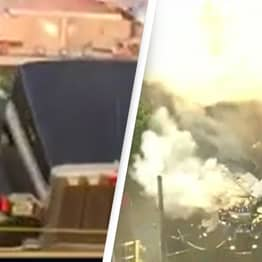 At Least 17 Injured After LAPD Explodes 5,000 Pounds Worth Of Illegal Fireworks
