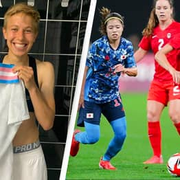 Footballer Becomes Olympics' First-Ever Openly Trans Athlete