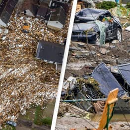 At Least 1,300 Unaccounted For In Germany After Unprecedented Floods Sweep Country