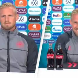 Denmark Goalkeeper Responds Brutally When Asked How He'll Stop It Coming Home For England