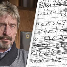 John McAfee's Wife Releases Suicide Note Claiming It Is 'Fake'
