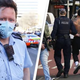Australia Police Searching For 3,500 'Very Selfish Boofheads' From Anti-Lockdown Protest
