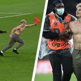 Pitch Invader At Euro 2020 Final Identified