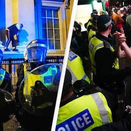Multiple Police Officers Injured By 'Volatile' Crowds Following England Euro Loss