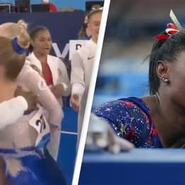 Simone Biles Was The First To Congratulate The Russians On Gold Win Despite Dropping Out