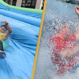 New Slip And Slide Show Delayed Following 'Explosive Diarrhoea' Outbreak