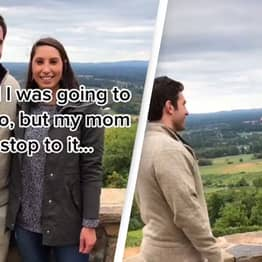 Man Slammed For Stopping Proposal After Mum Interrupts