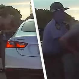 Ohio State Trooper Saves Driver Choking On Bag Of Weed