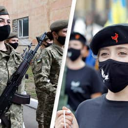 Ukraine Slammed Over 'Medieval' Plans For Female Soldiers March