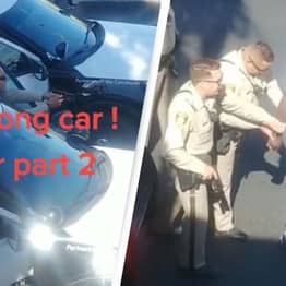 Video Shows Police Arresting Man Even After Admitting They'd Pulled Over The Wrong Car