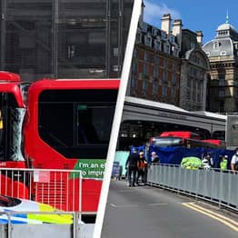 One Dead And Two Injured In Victoria Station Crash Involving Two Buses