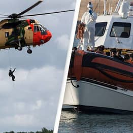 Rescue Mission Launched To Save 40 Migrants As Boat Begins To Sink In The Channel