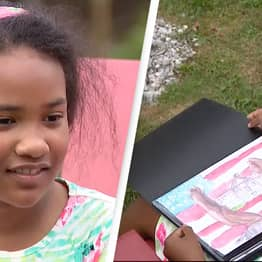 Nine-Year-Old's Depiction Of Slavery Wins White House Art Competition