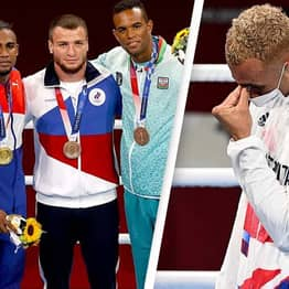 Team GB Boxer Under Fire For Refusing To Wear Silver Medal On Podium