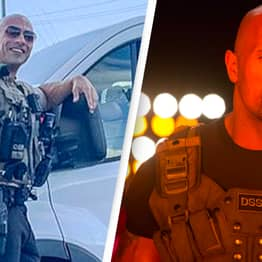 Dwayne 'The Cop' Johnson Baffles The Internet With How Much He Looks Like The Rock