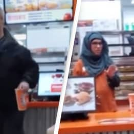 'Male Karen' Has A Meltdown And Screams At Employees Over Chicken Tenders