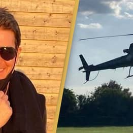 Tom Cruise Randomly Lands Helicopter In UK Family's Garden Before Offering Them A Ride