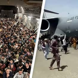 Afghanistan: Marine Confirms How Many People Were Rescued On Packed C-17 Cargo Jet