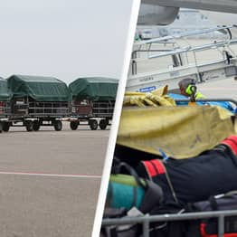 Airport Luggage Handler Reveals Mystery Of How They Fit Everything On Board