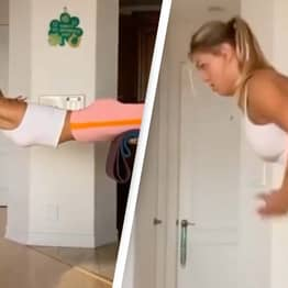 Awe As Athlete Shares Training Workout Involving 'Swimming' In The Air
