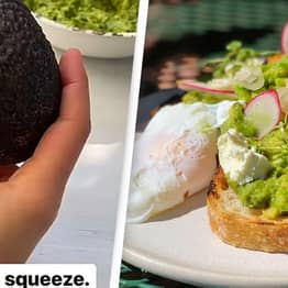 You've Been Squeezing Avocados Wrong Your Whole Life