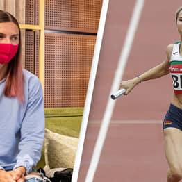 Exiled Olympian Tsimanouskaya 'Warmly Welcomed' In Poland After Threat To Her Life In Belarus