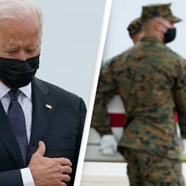 Fathers Of Marines Killed In Kabul Blast Condemn 'Disrespectful' Biden's Reaction As Bodies Return Home