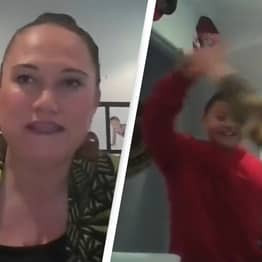 New Zealand Minister's Zoom Interrupted By Son Waving Around Weirdly Shaped Carrot On Live TV