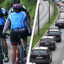 Cyclists And Motorists Clash Over 'Correct Cycling Protocol'