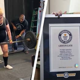 100-Year-Old Woman Becomes World's Oldest Competitive Powerlifter