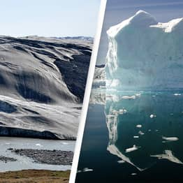 Rain Falls On Greenland Ice Cap Instead Of Snow For The First Time Ever Recorded