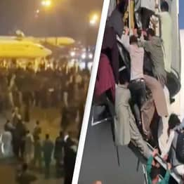 'At Least Five Dead' As Chaos Erupts At Kabul Airport Amid Attempts To Flee Taliban