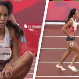 Injured British Olympian Refuses Help And Insists On Finishing The Race