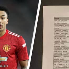 Hilarious Leaked Image Showing Manchester Utd's Food Orders At Away Game Has Internet In Stitches