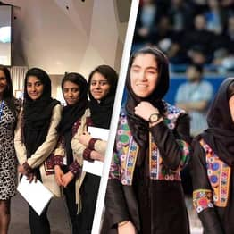 Devoted Mother Reveals How She Rescued The Afghan Women's Robotic Team From Kabul