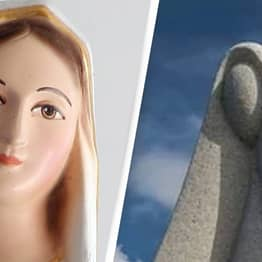 Statue That Is Supposed To Be The Virgin Mary Is Accidentally NSFW