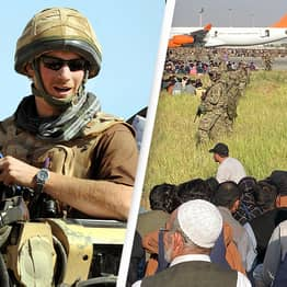 Prince Harry Encourages Veterans To 'Offer Support For One Another' Amid Taliban Takeover