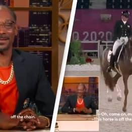 Snoop Dogg Says Equestrian Horse Is 'Gangsta As A Motherf*cker'